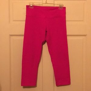 lululemon athletica wunder under crop size 6